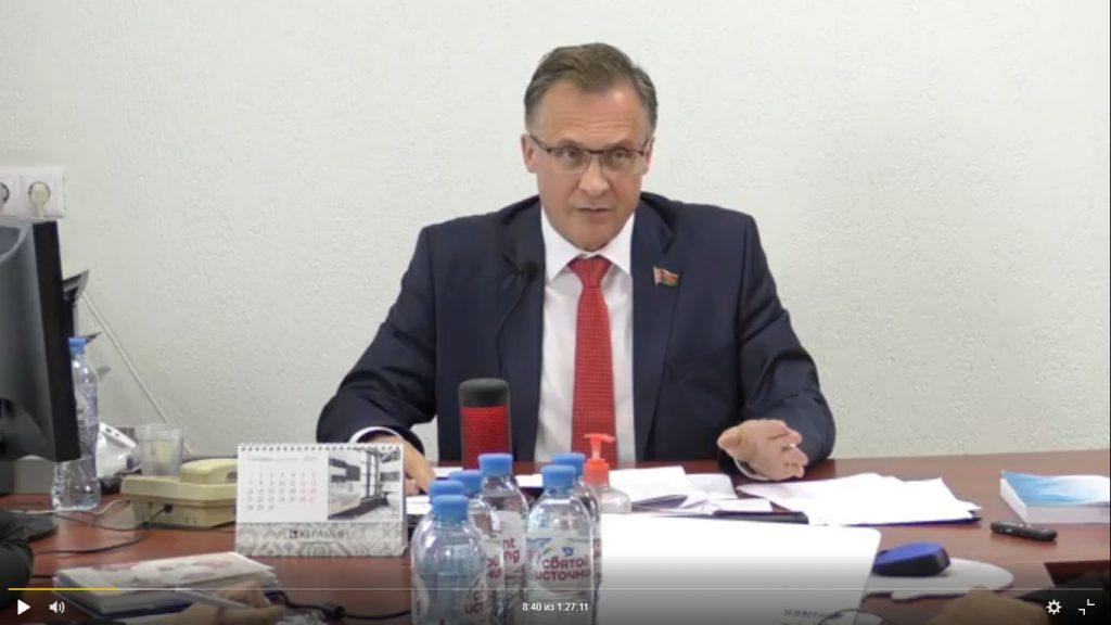 Встреча депутата Андрея Савиных с группой избирателей