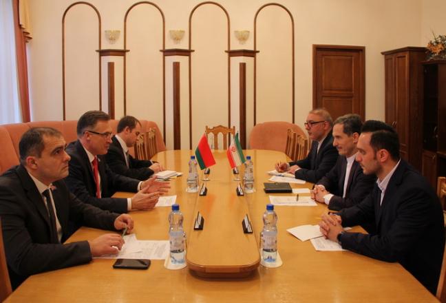 Андрей Савиных встретился с послом Ирана Саидом Яри