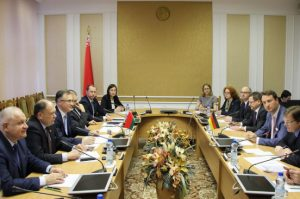 Встреча с парламентской делегацией Федеративной Республики Германия