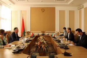 Встреча А. В. Савиных с послом Ирана С. Яри