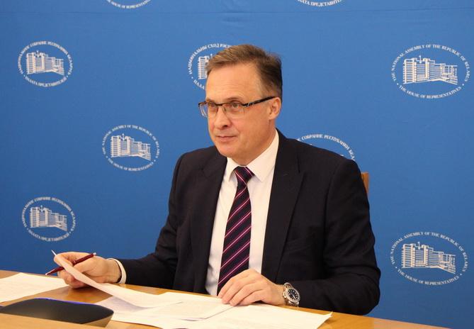 Онлайн-встреча А. В. Савиных с депутатом С. Эсером