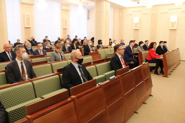 А.В. Савиных принял участие в заседании Совета Палаты представителей Национального собрания Беларуси